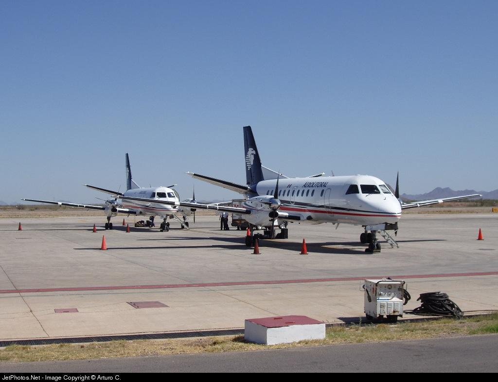 XA-TJI - Saab 340B - Aerolitoral