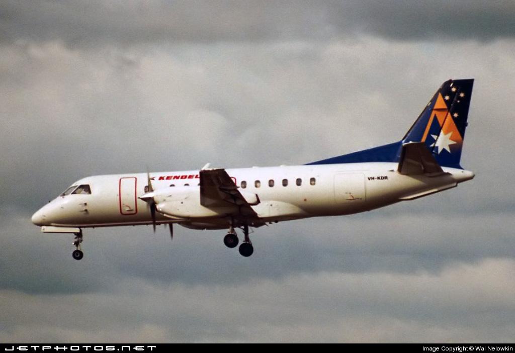 VH-KDR - Saab 340B - Kendell Airlines