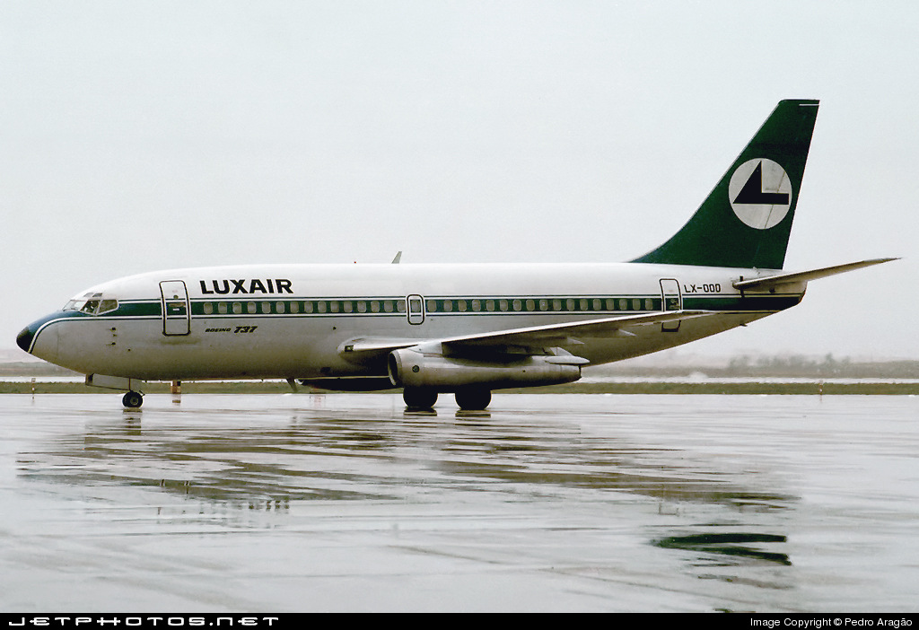 LX-OOO - Boeing 737-229(Adv) - Luxair - Luxembourg Airlines