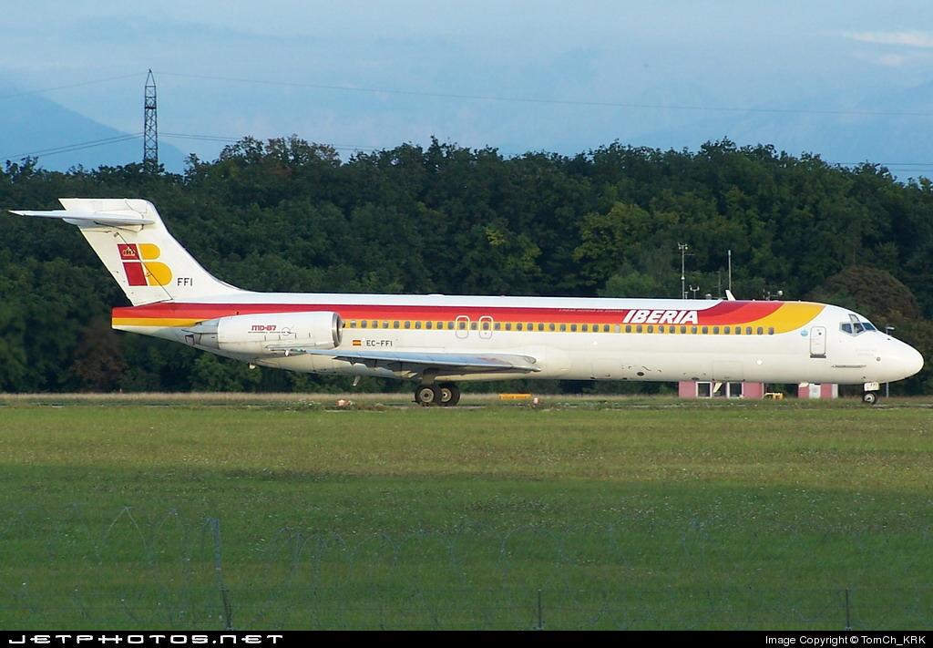 EC-FFI - McDonnell Douglas MD-87 - Iberia