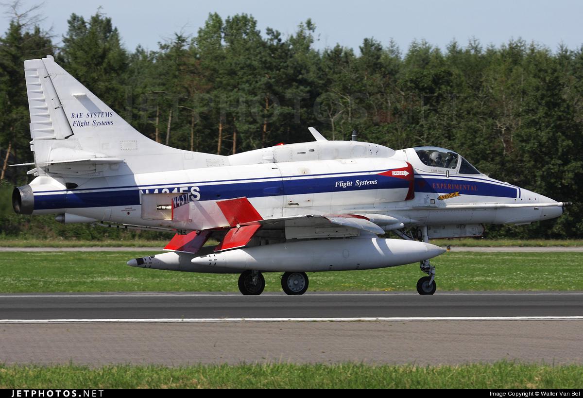 N431FS - McDonnell Douglas A-4N Skyhawk - BAe Systems