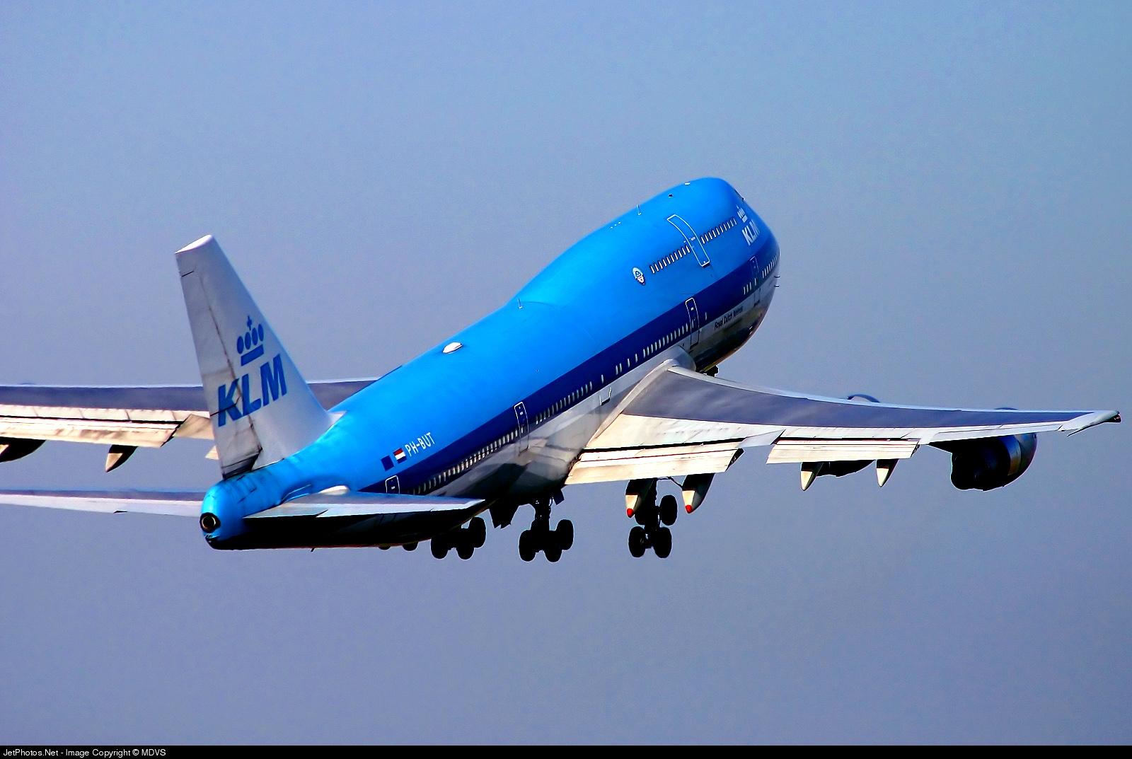 PH-BUT - Boeing 747-206B(M)(SUD) - KLM Royal Dutch Airlines