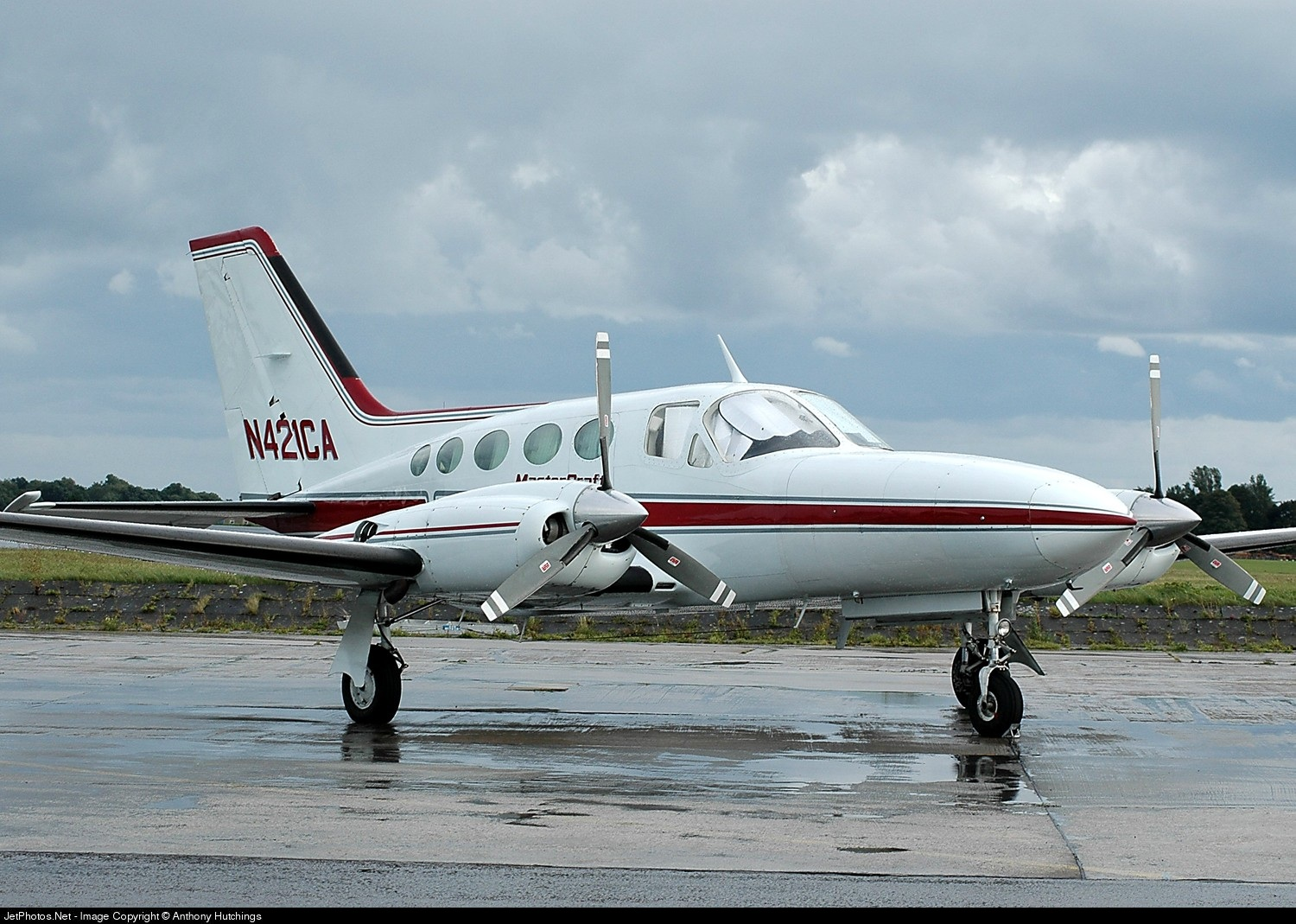 N421CA - Cessna 421C Golden Eagle - Private