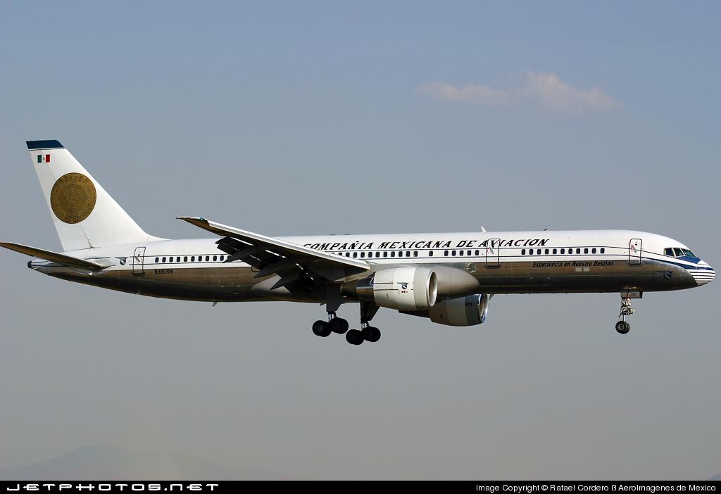 N380RM - Boeing 757-2Q8 - Mexicana