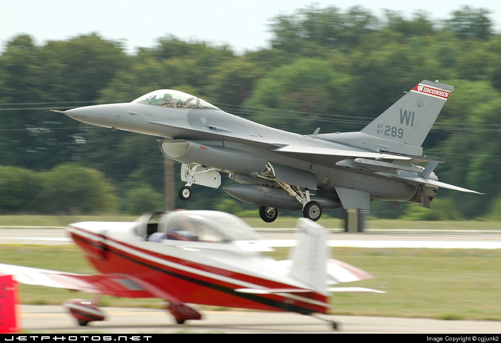 87-0289 - General Dynamics F-16C Fighting Falcon - United States - US Air Force (USAF)
