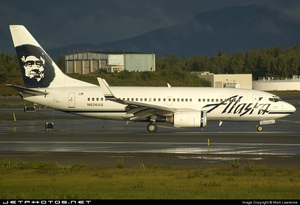N626AS - Boeing 737-790 - Alaska Airlines
