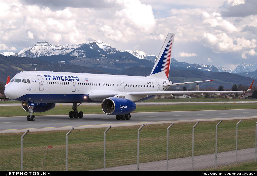 RA-64518 - Tupolev Tu-214 - Transaero Airlines
