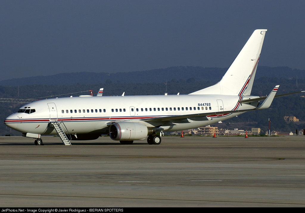 N4476S - Boeing 737-7ET(BBJ) - Keeler and Tate Management