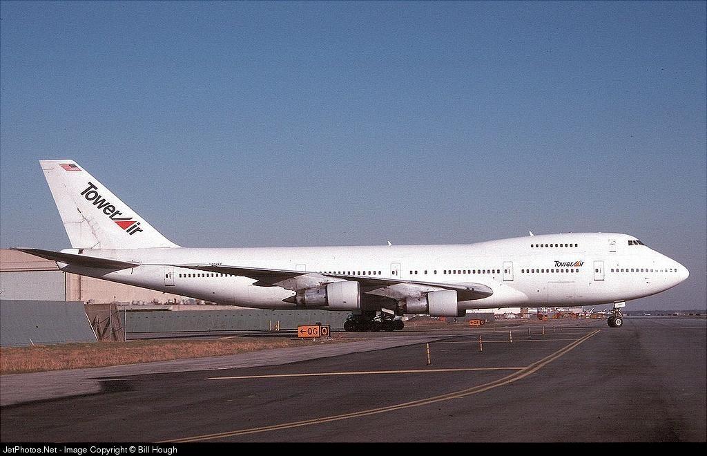 N614FF - Boeing 747-238B - Tower Air