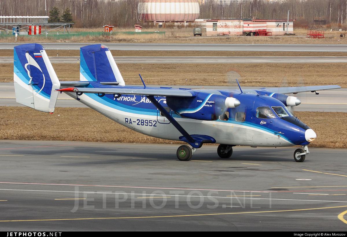 RA-28952 - Antonov An-28 - Region-Avia