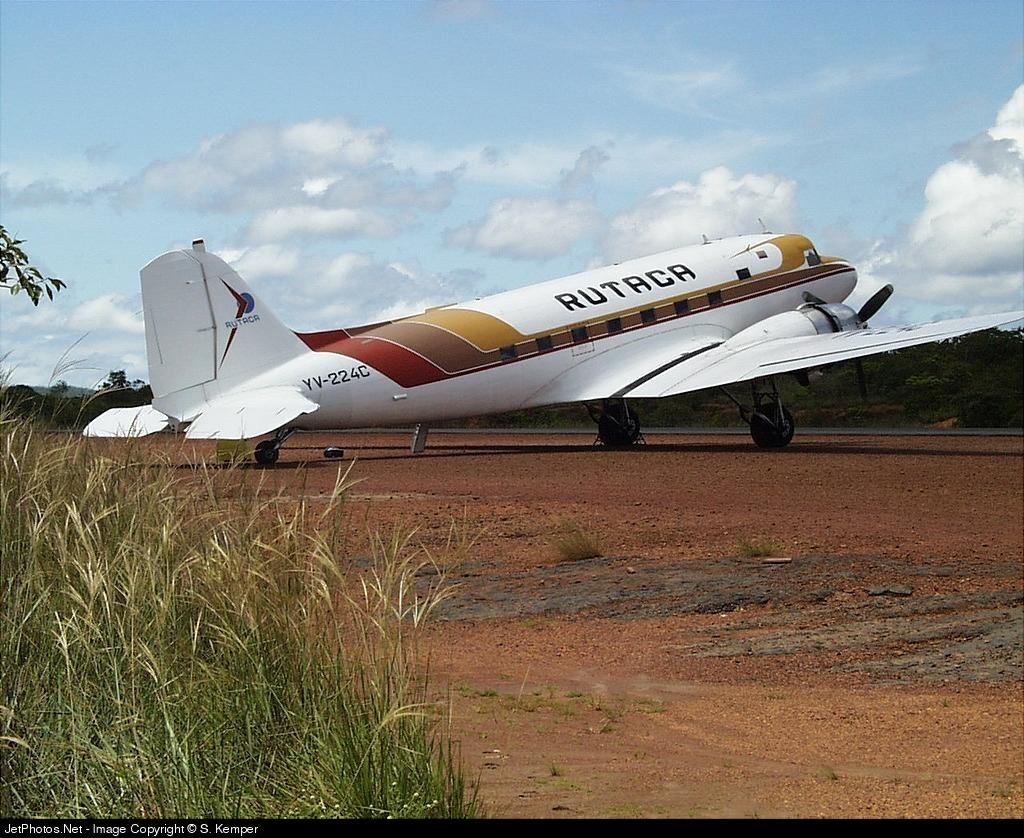 YV-224C - Douglas DC-3 - Rutaca Airlines