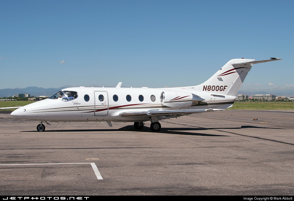 N800GF - Beechcraft 400A Beechjet - Private