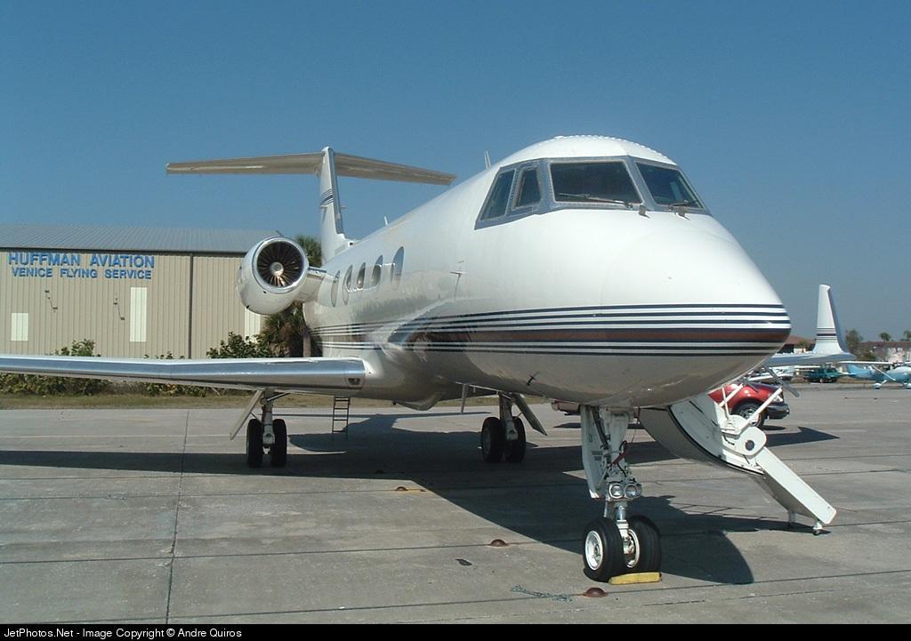 N629TD - Gulfstream G-II - Private