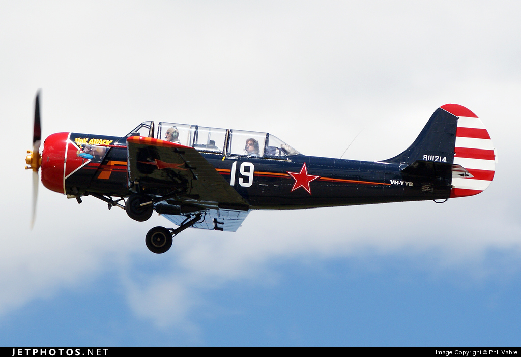 VH-YYB - Yakovlev Yak-52 - Private