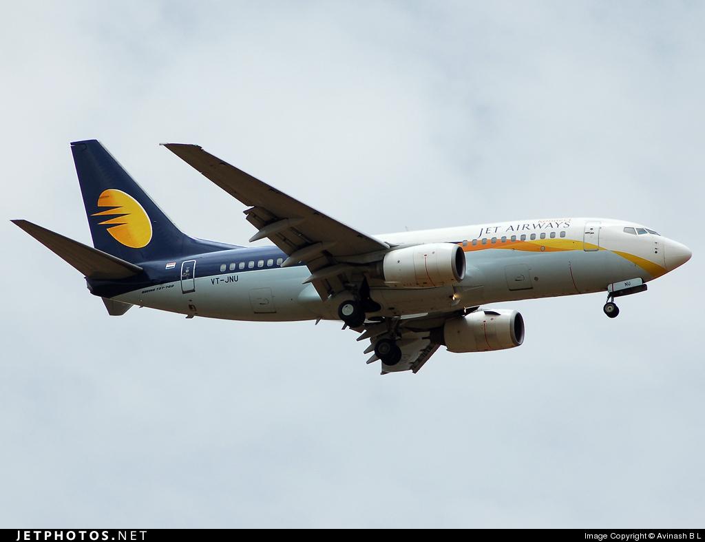VT-JNU - Boeing 737-75N - Jet Airways Konnect