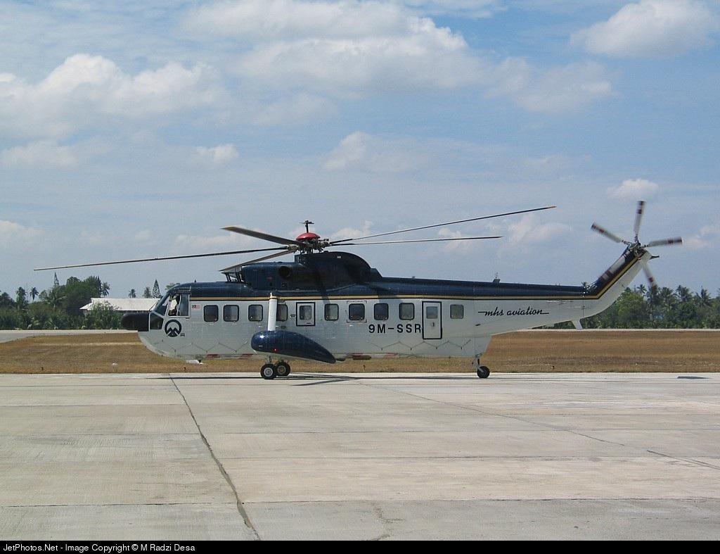 9M-SSR - Sikorsky S-61 - MHS Aviation
