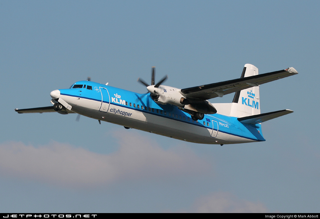 PH-LXT - Fokker 50 - KLM Cityhopper