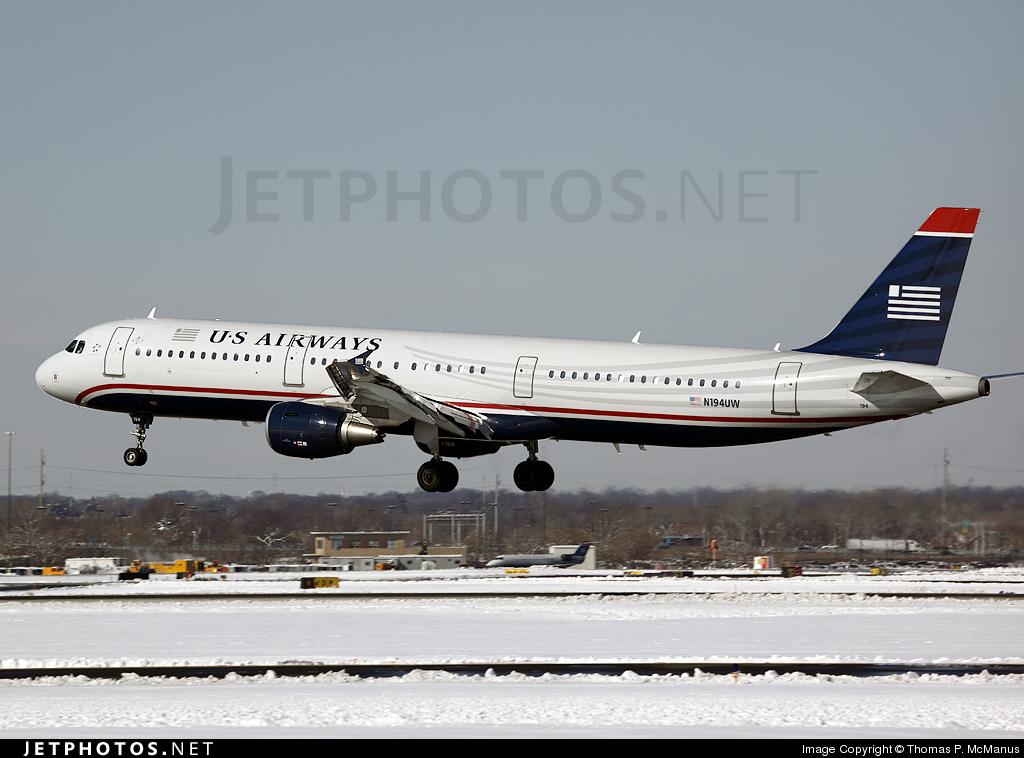 N194UW - Airbus A321-211 - US Airways