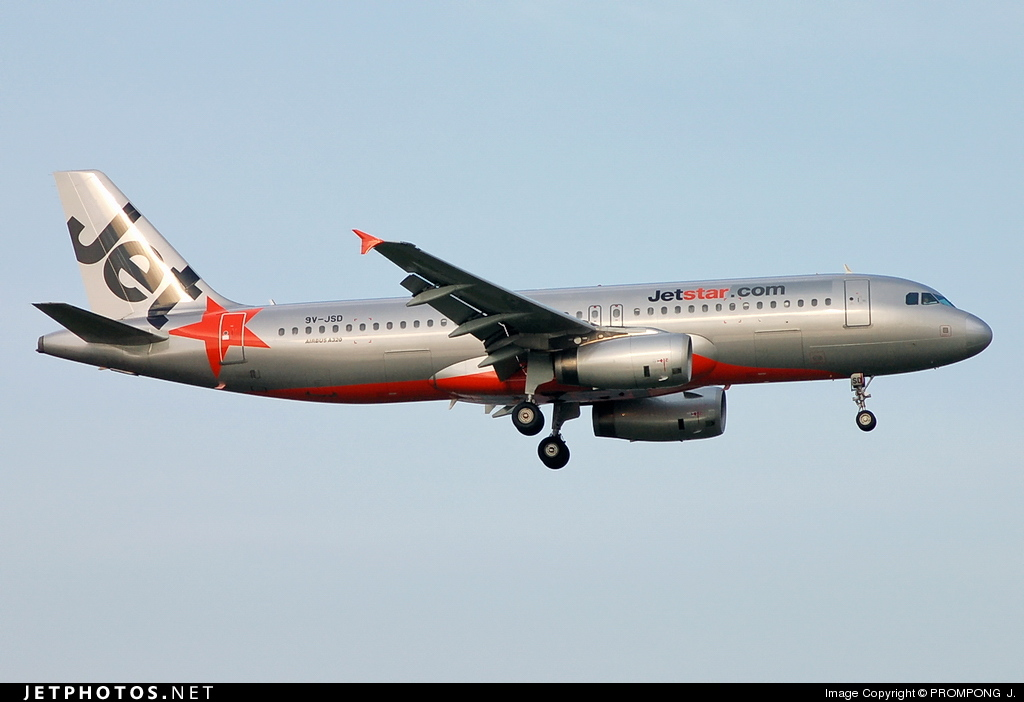 9V-JSD - Airbus A320-232 - Jetstar Asia Airways