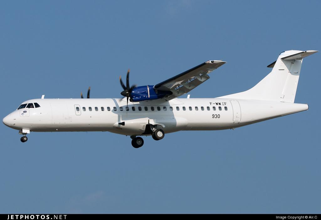 F-WWEF - ATR 72-212A(500) - ATR