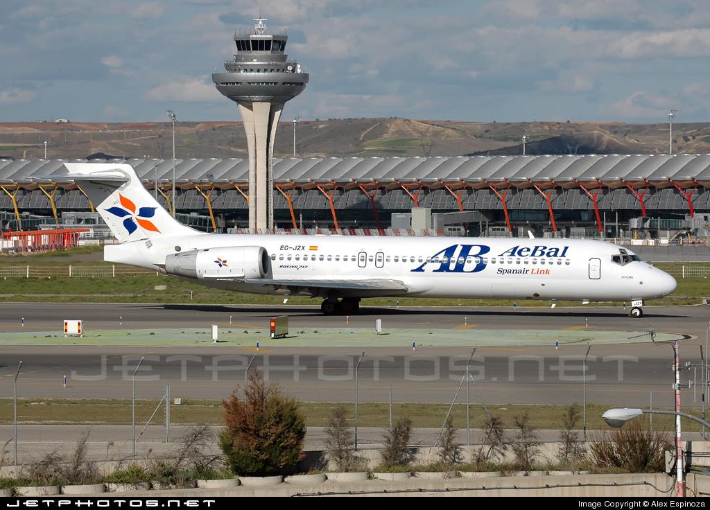 EC-JZX - Boeing 717-21S - Spanair Link (AeBal)