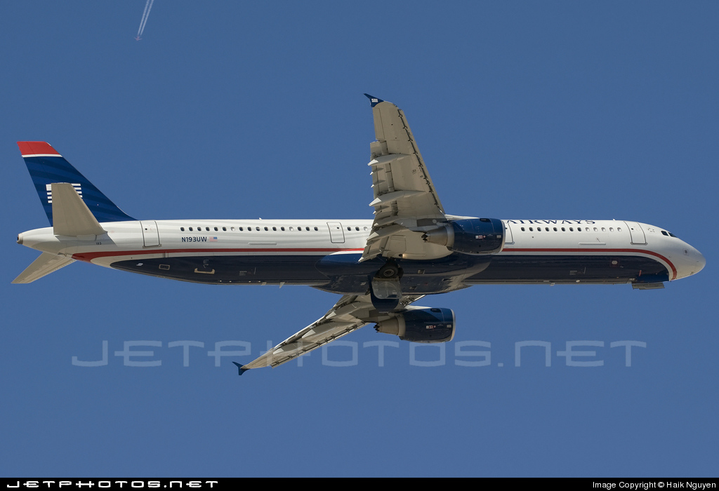 N193UW - Airbus A321-211 - US Airways