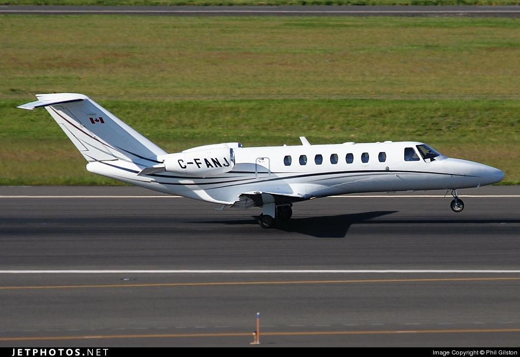 C-FANJ - Cessna 525B CitationJet 3 - Private