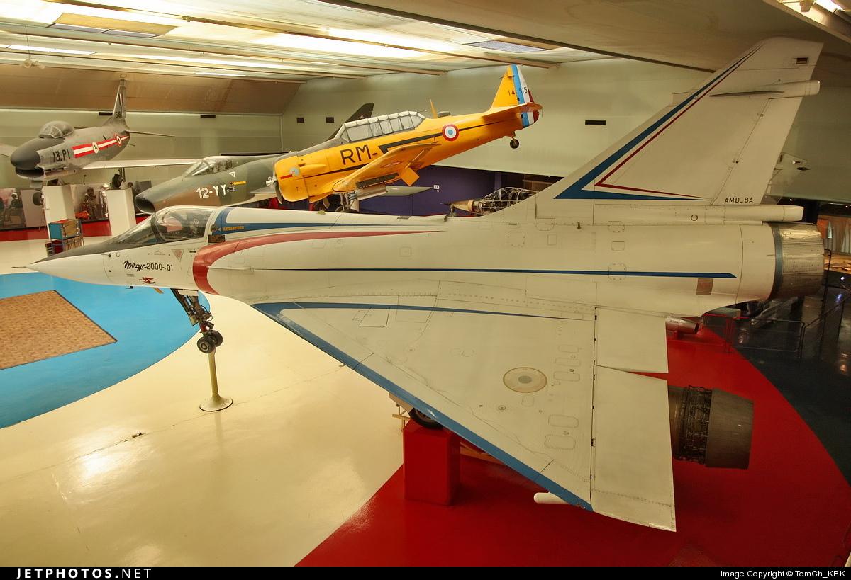 01 - Dassault Mirage 2000 - France - Air Force