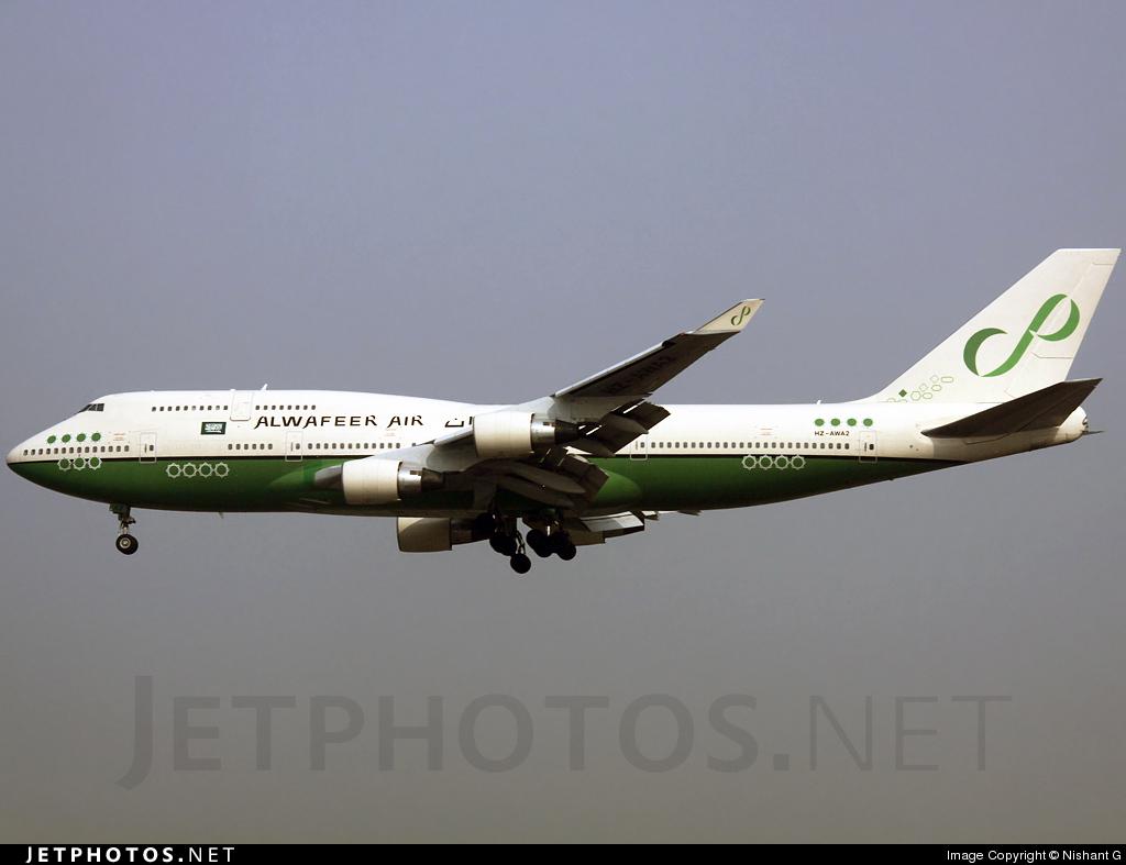 HZ-AWA2 - Boeing 747-4H6 - Alwafeer Air