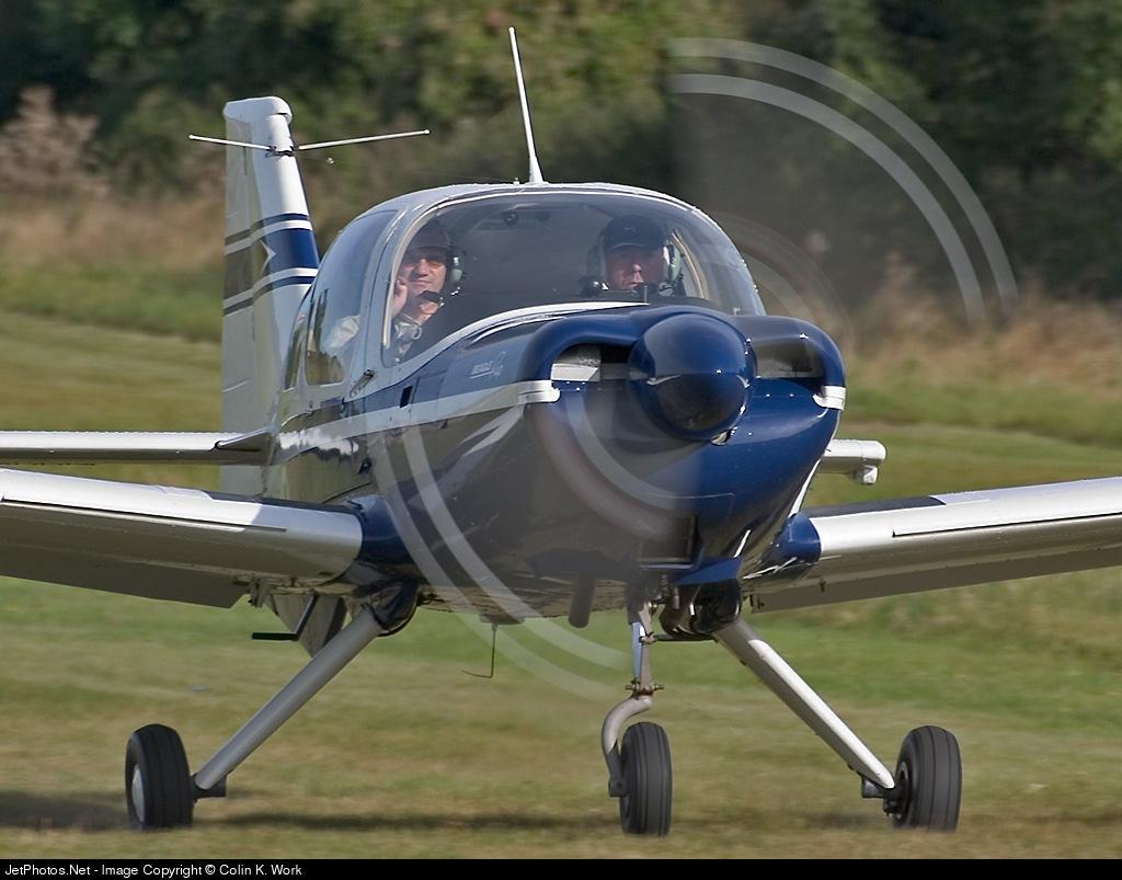 G-AXNR - Beagle B.121 Pup 2 - Private
