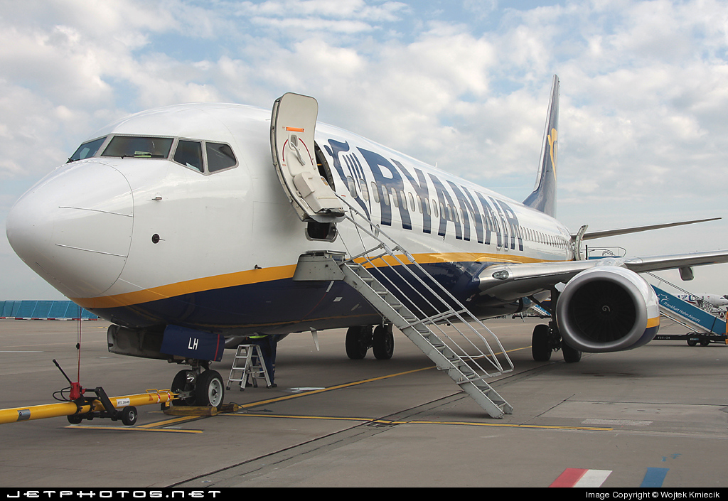 EI-DLH - Boeing 737-8AS - Ryanair