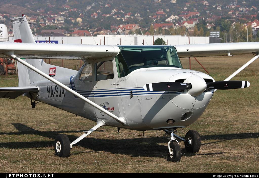 HA-SJA - Reims-Cessna FR172J Reims Rocket - Centro-Plane