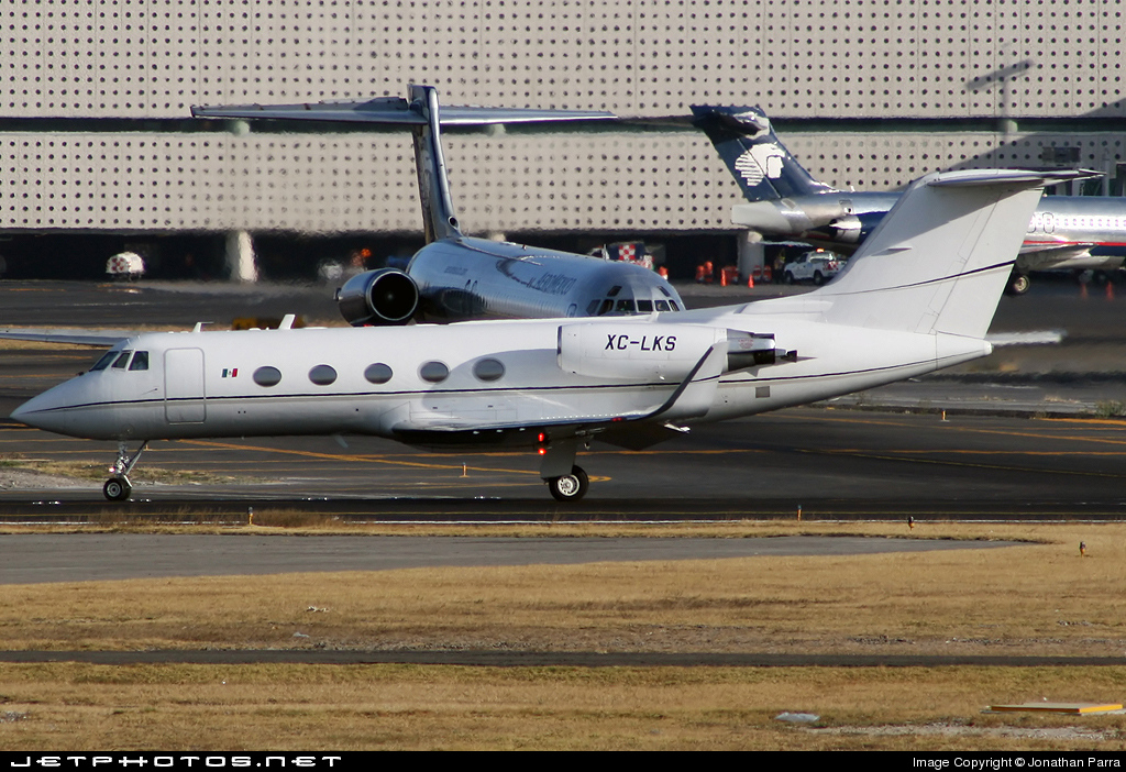 XC-LKS - Gulfstream G-II(SP) - Mexico - Government