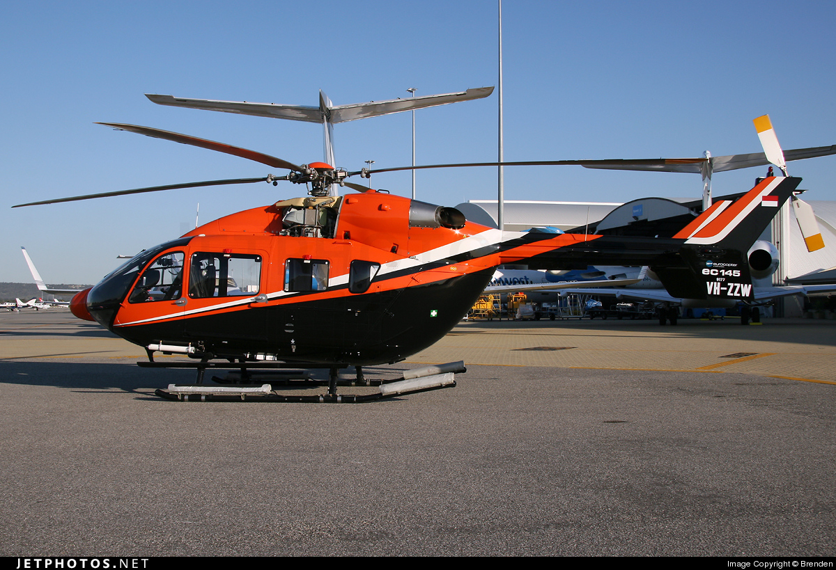 VH-ZZW - Eurocopter EC 145 - Avwest Aviation
