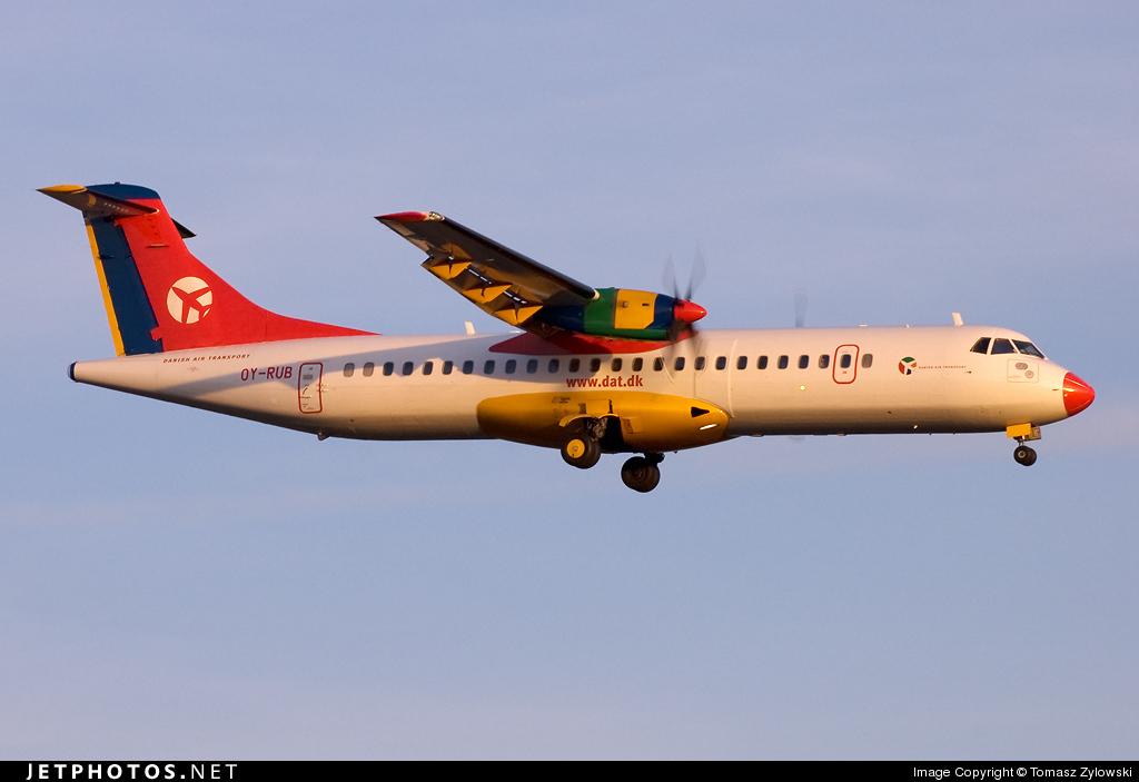 OY-RUB - ATR 72-202 - Danish Air Transport (DAT)