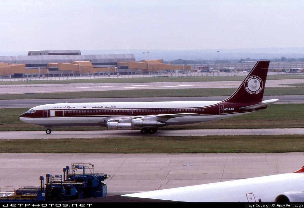 A7-AAC - Boeing 707-336C - Qatar - Amiri Flight
