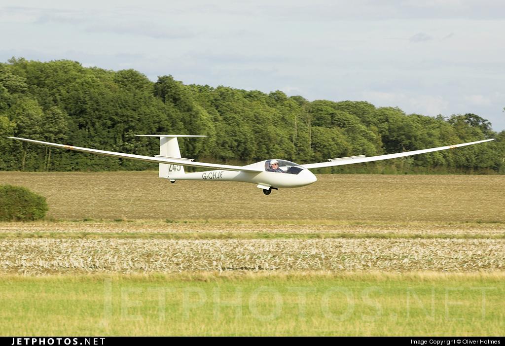 G-CHJF - Rolladen-Schneider LS-6C - Private