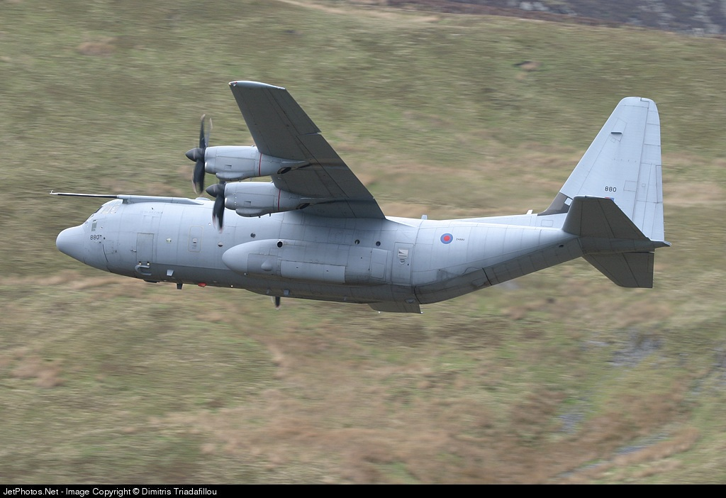 ZH880 - Lockheed Martin Hercules C.5 - United Kingdom - Royal Air Force (RAF)