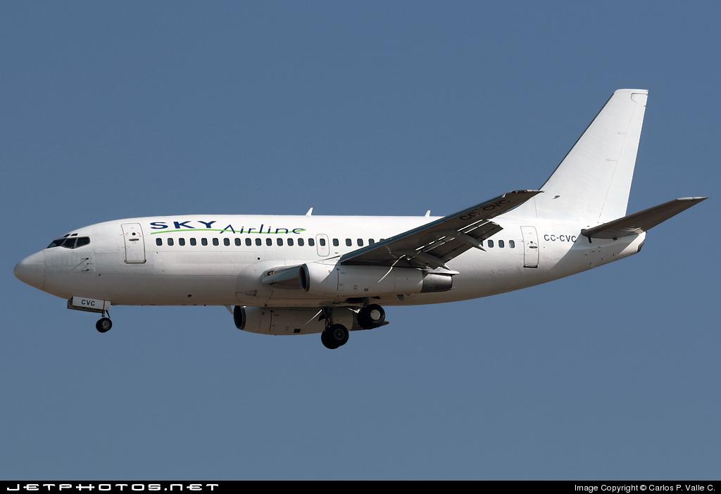 CC-CVC - Boeing 737-229(Adv) - Sky Airline