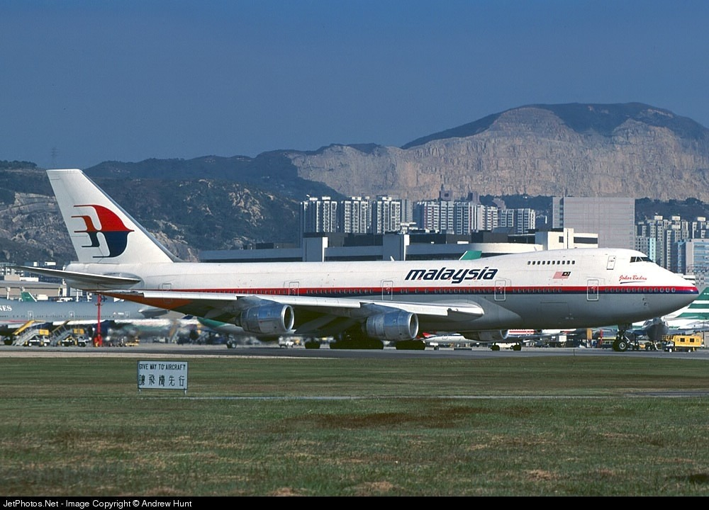 9M-MHJ - Boeing 747-236B - Malaysia Airlines