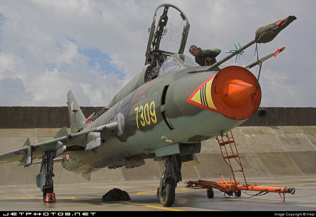 7309 - Sukhoi Su-22M4 Fitter K - Poland - Air Force