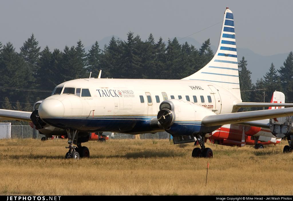 VH-PAL - Convair CV-580 - Pionair