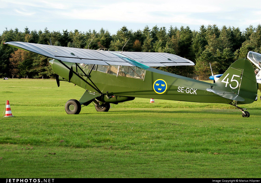 SE-GCK - Piper PA-18-150 Super Cub - Private