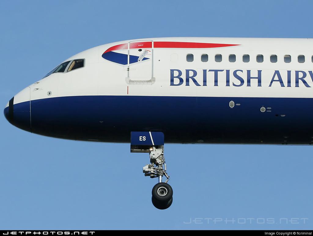 G-CPES - Boeing 757-236 - British Airways