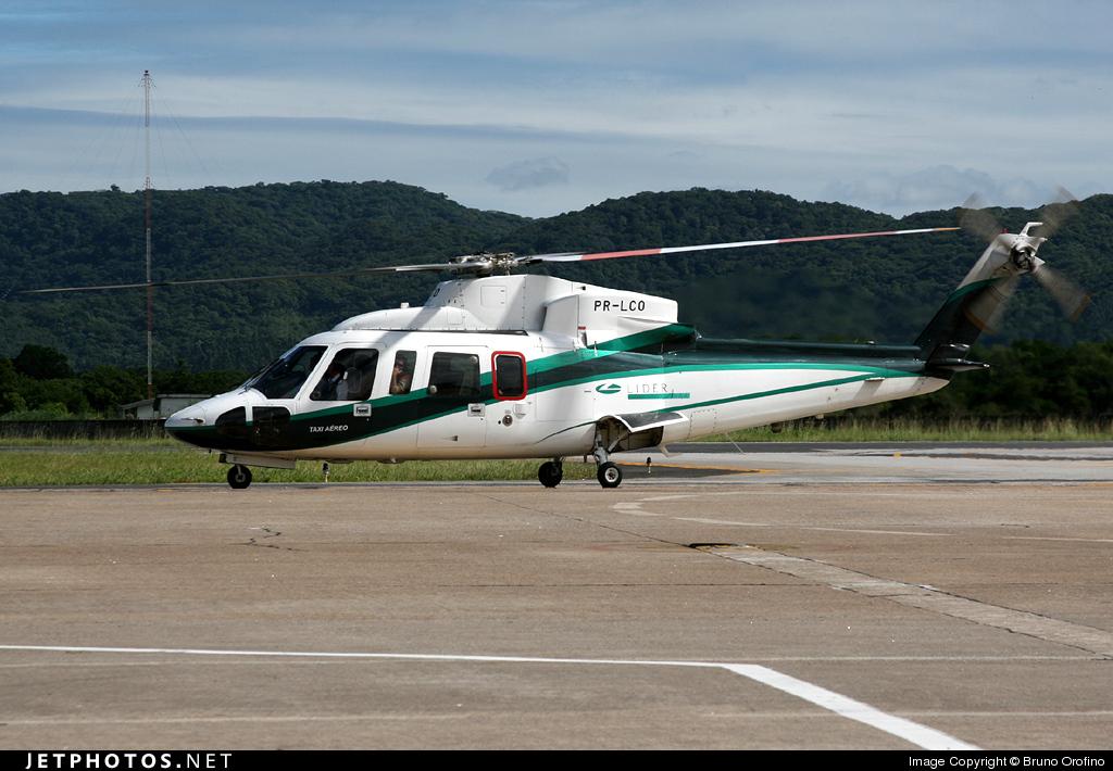 PR-LCO - Sikorsky S-76C - Líder Táxi Aéreo