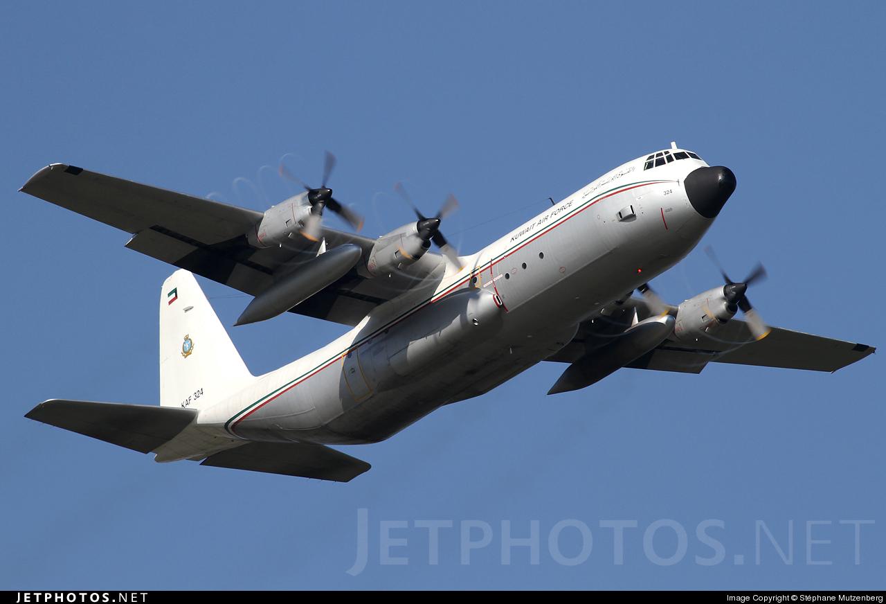 KAF324 - Lockheed L-100-30 Hercules - Kuwait - Air Force