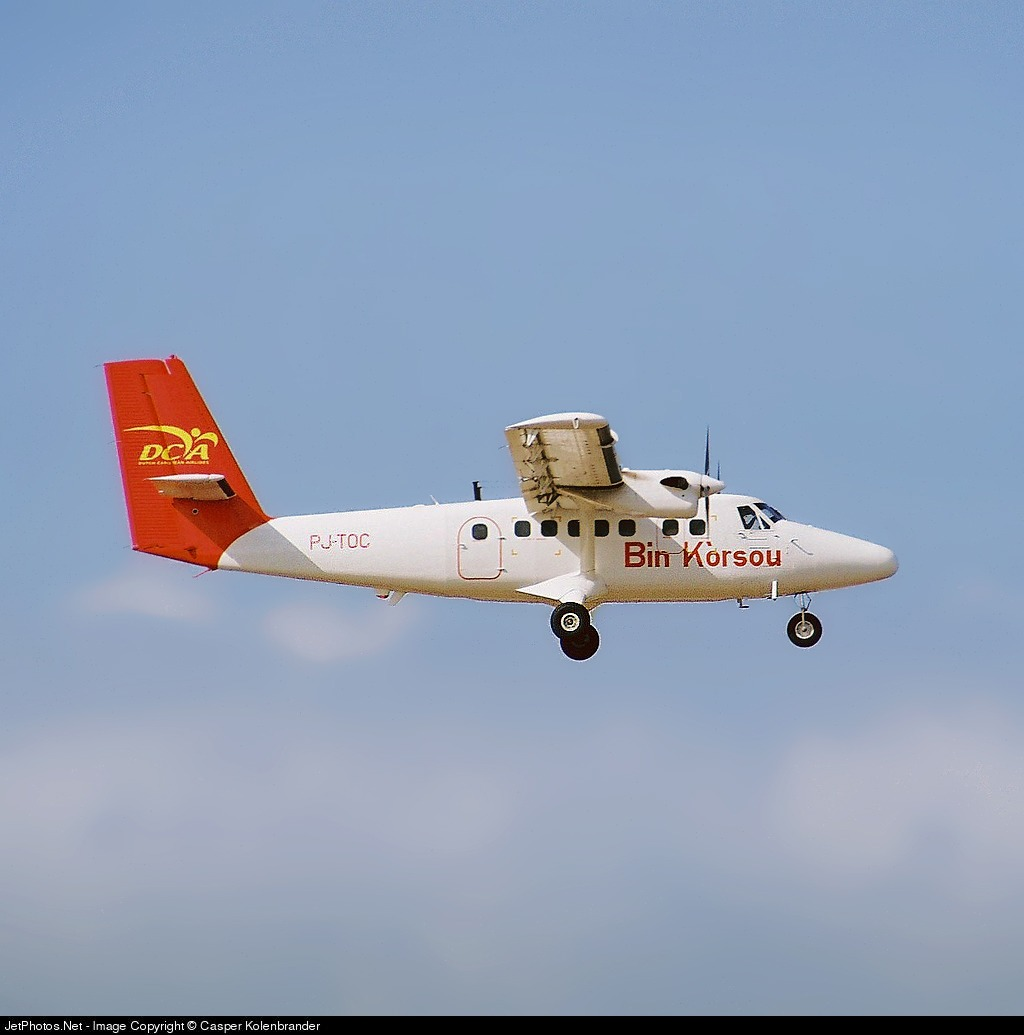 PJ-TOC - De Havilland Canada DHC-6-300 Twin Otter - Dutch Caribbean Airlines (DCA)