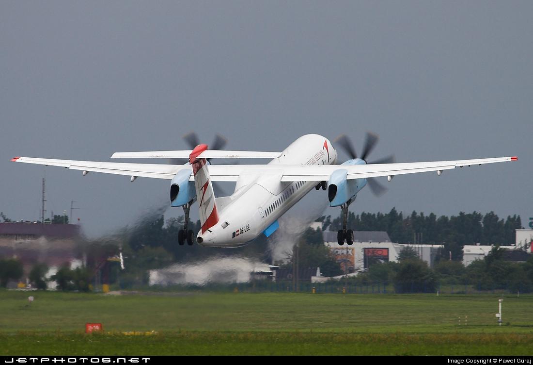 OE-LGE - Bombardier Dash 8-Q402 - Austrian Arrows