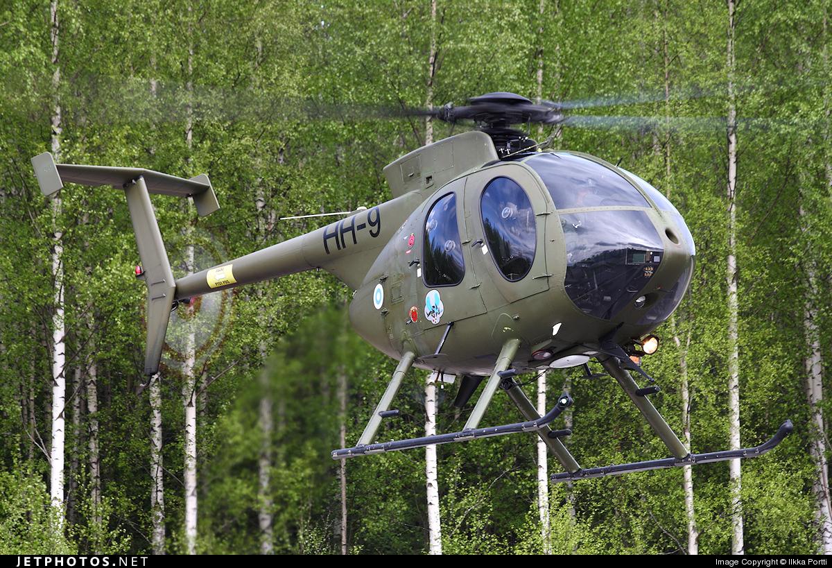 HH-9 - McDonnell Douglas MD-500E - Finland - Army