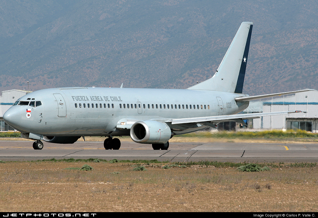 922 - Boeing 737-330(QC) - Chile - Air Force